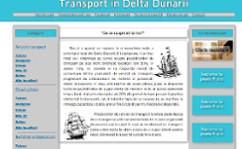 Transport in Delta Dunarii